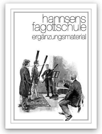 Link zum Ergänzungsmaterial von Hannsens Fagottschule