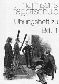 Fagottschule Band 1 Übungsheft Cover