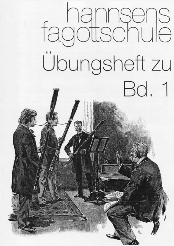 Link zum Übungsheft zu Hannsens Fagottschule Band 1